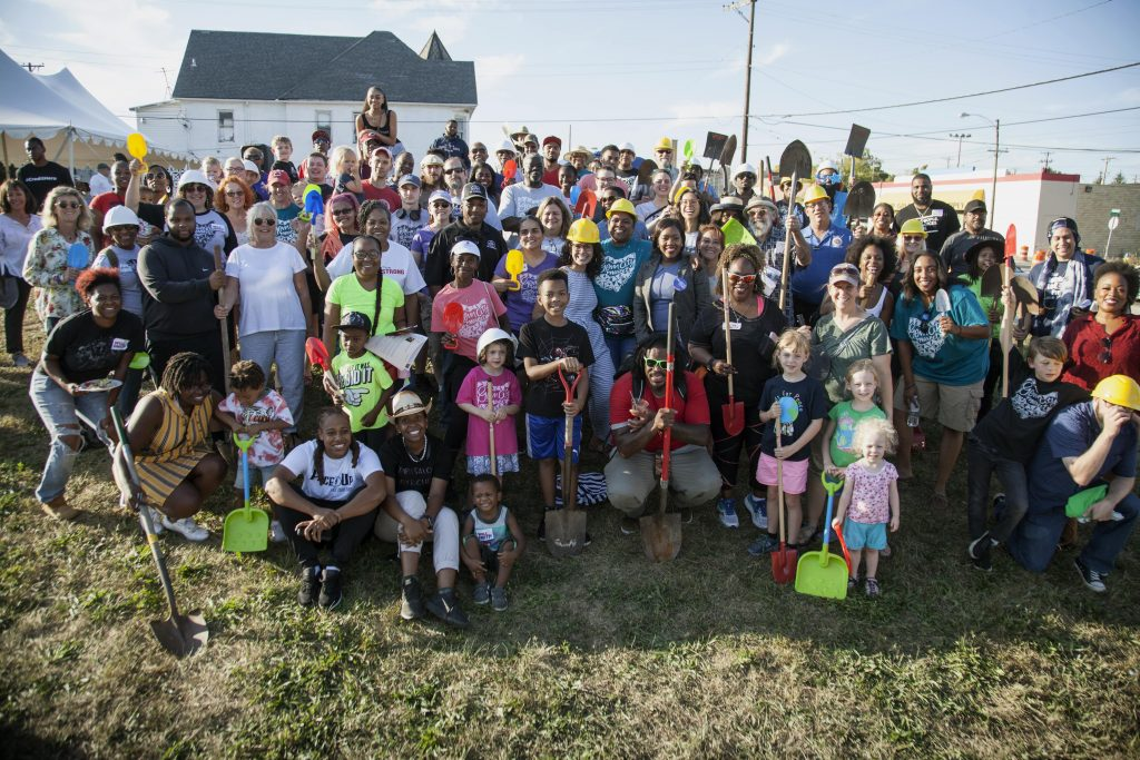 Ceremonial Community Groundbreaking @ Annual Block Party