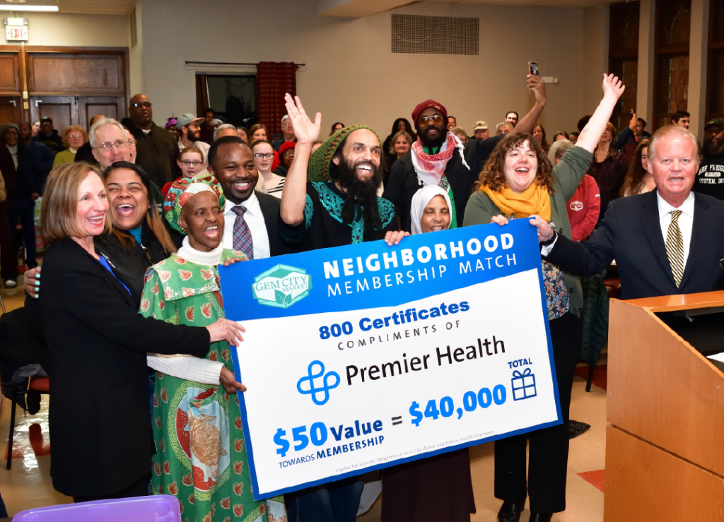 Community Partnership: Premier Health Announces Neighborhood 50/50 Match @ Community Meeting