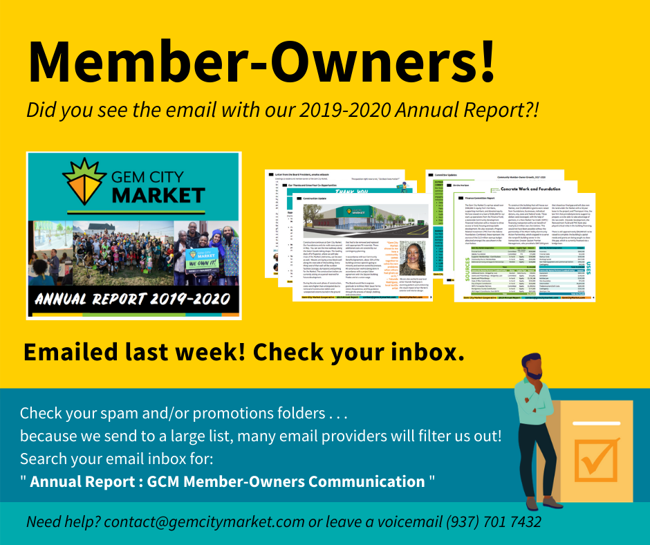 Annual Report Sent to Member-Owners